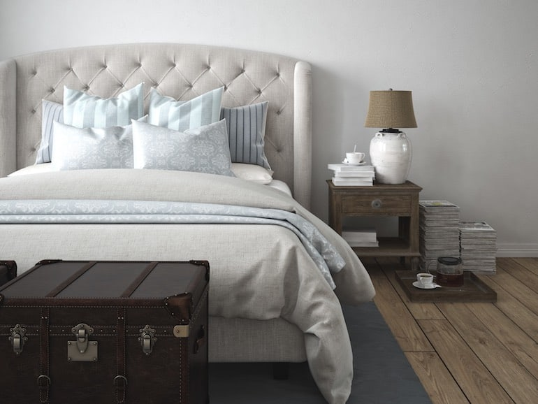 Schlafzimmer Farben: Wirkung auf das Schlafbefinden