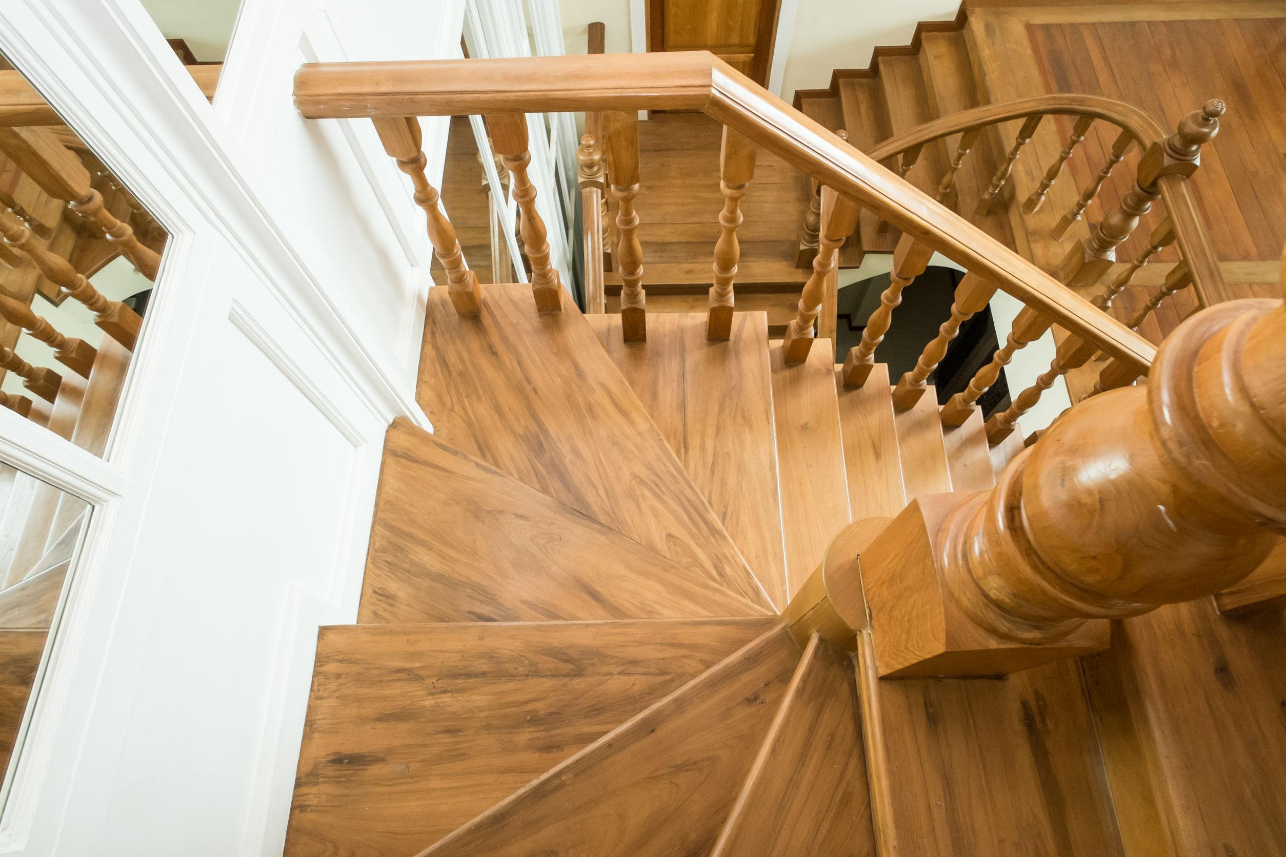 Holz Treppengeländer