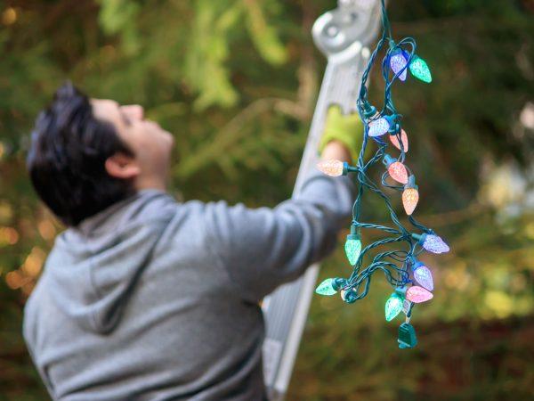Weihnachtsbeleuchtung für außen