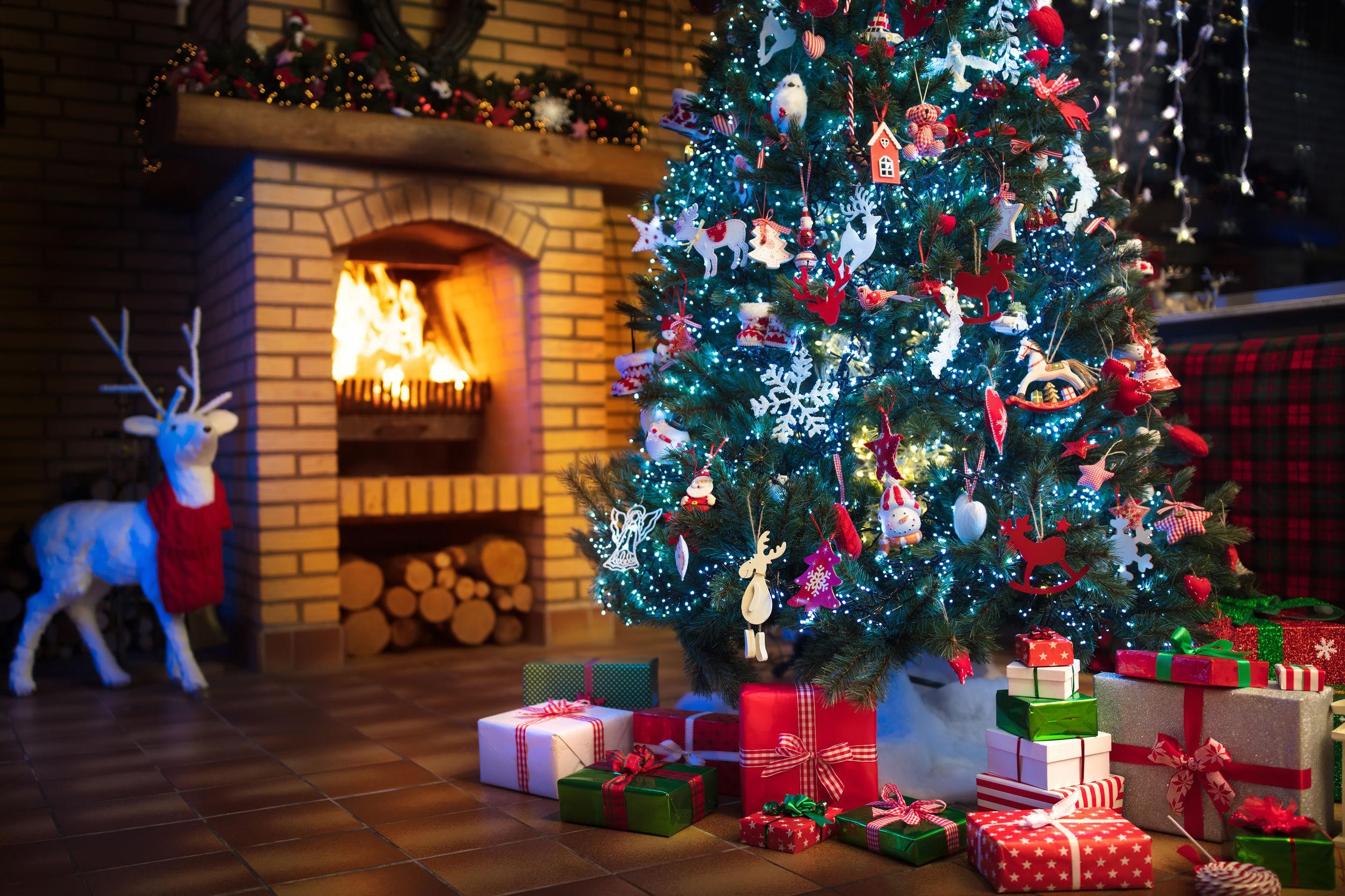 Weihnachtsbaumbeleuchtung kabellos