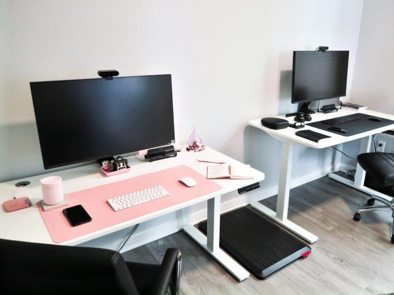 Höhenverstellbarer Schreibtisch-2