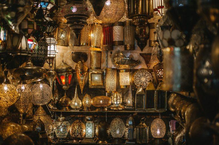 Orientalische Lampe-1
