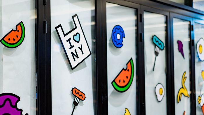 Bunte PVC-Fensterbilder mit verschiedenen Motiven