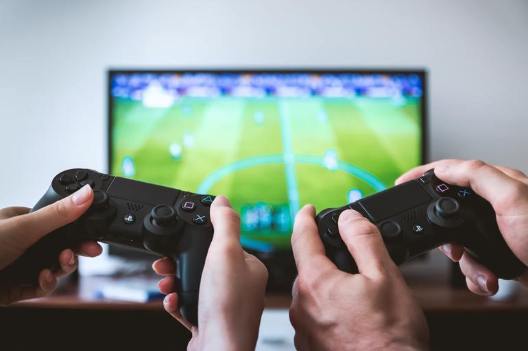 Gaming Bildschirm