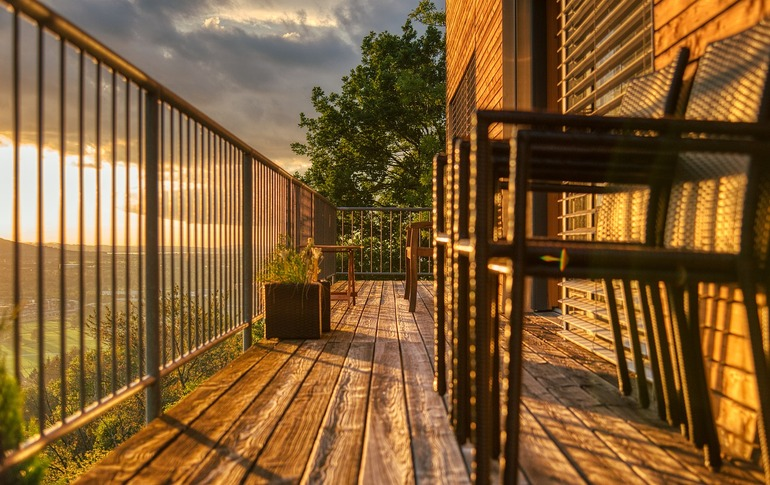Balkon selber bauen