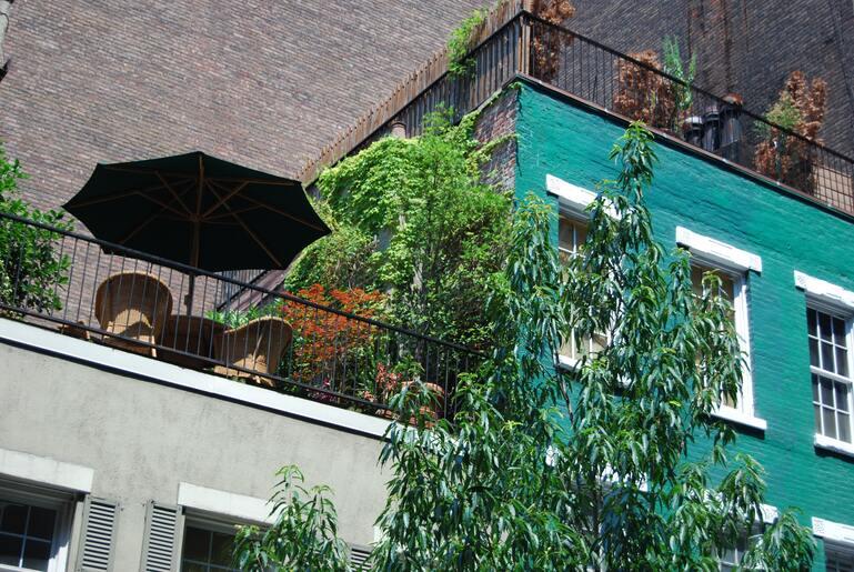 Balkon Sonnenschutz