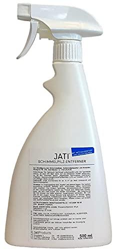 JATI SPE Schimmelpilzentferner, mit Profi-Power gegen Schimmelpilze, Sporen und Bakterien, mit Aktivsauerstoff und stabilisierenden Fruchtsäuren - kein Gefahrstoff, chlorfrei, desinfizierend