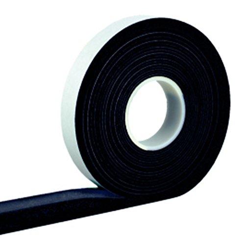 Kompriband 15/4 anthrazit 8 m Rolle, Bandbreite 15mm, expandiert von 4 auf 20mm, Fugendichtband, Komprimierband