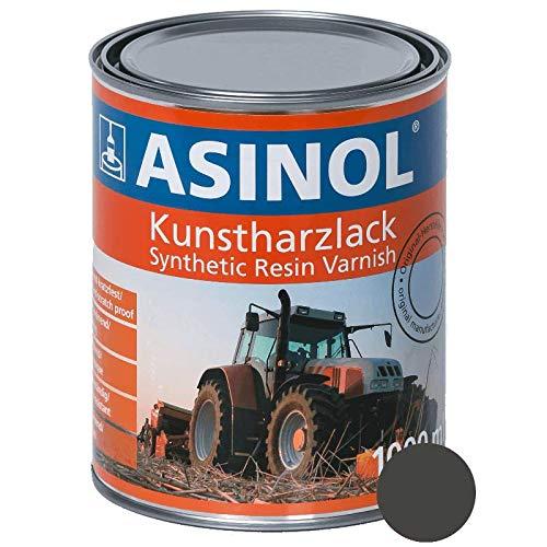 ASINOL FENDT GRAU ALT 1000 ml Kunstharzlack Farbe Lack 1l Liter Dose
