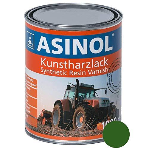 Kunstharzlack für John Deere Grün 1.000 ml Farbe Lack 1 Liter Dose